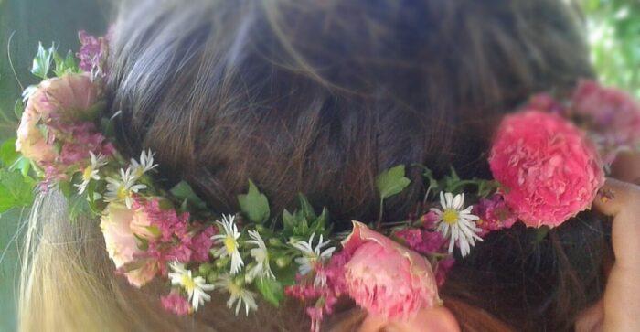 Le Tri Fleuri - Galerie photo - Couronne de tête et fantaisies