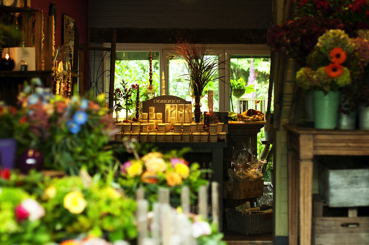 Le Tri Fleuri - fleuriste Lasne - côté intérieur